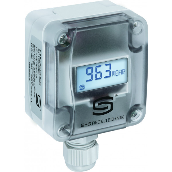 Atmospheric pressure sensor and transmitter