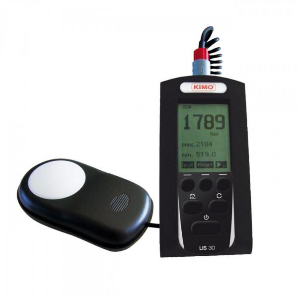 Medidor de luz manual con grabador y software LIS30