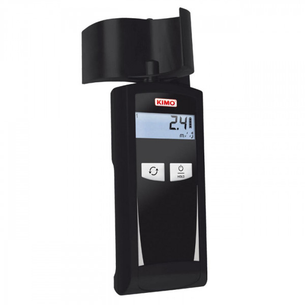 Thermo-anemometer with cup