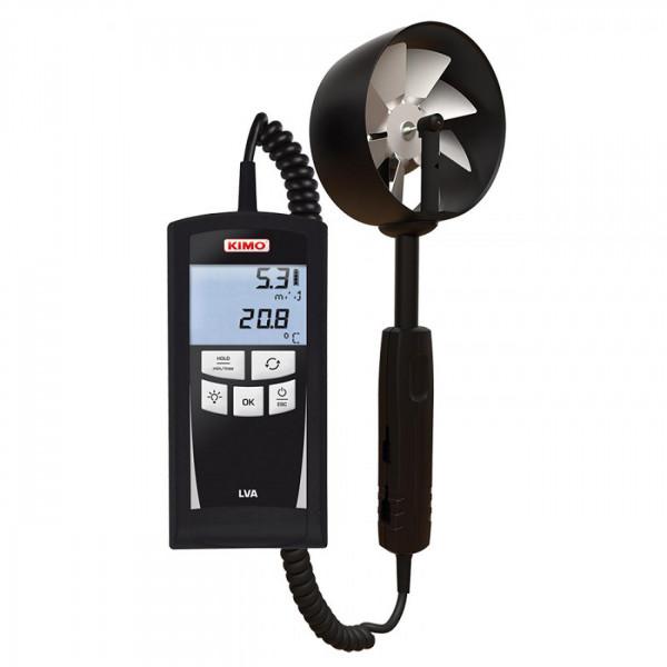 Termoanemómetro con hélice remota