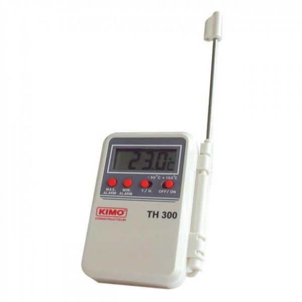 Mini termómetro con sonda