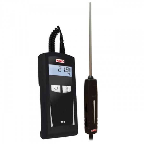 Thermomètre à main pour sonde Pt100