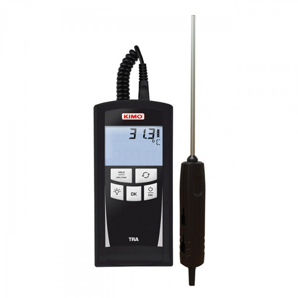Pt100 handheld thermometer (1 or 2 channels)