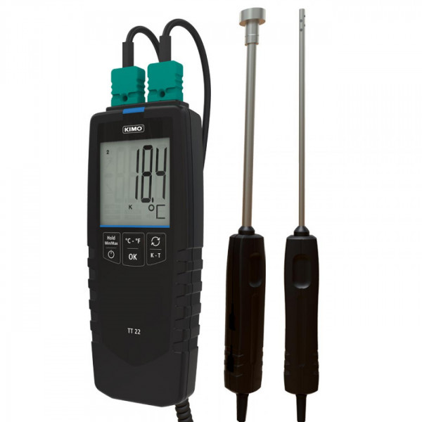 Handheld thermometer Thermocouple (1 or 2 ways)