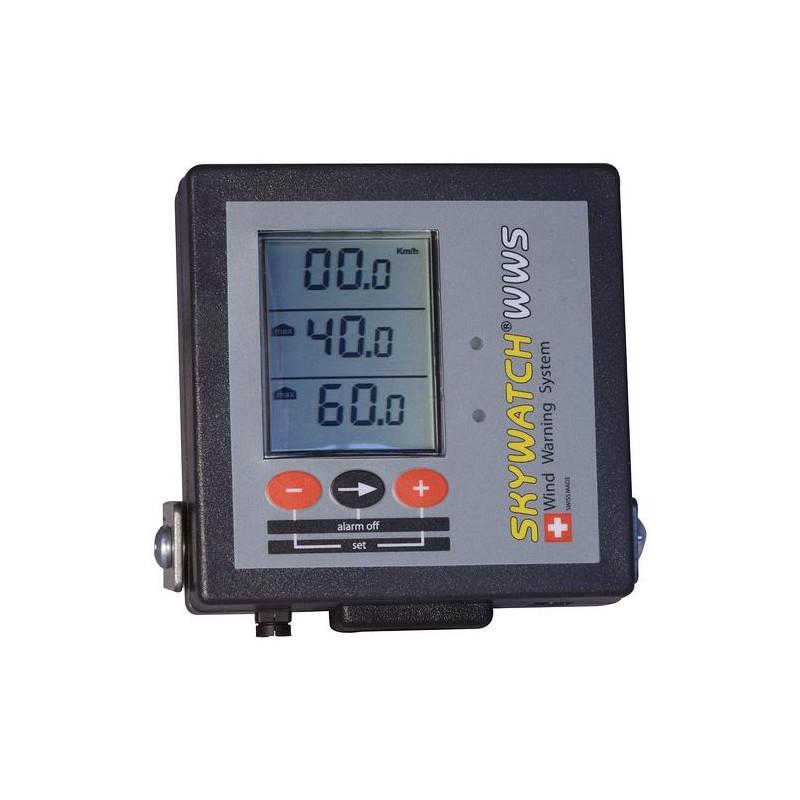 Anémomètre alarme Skywatch WWS (Wind Warning System)