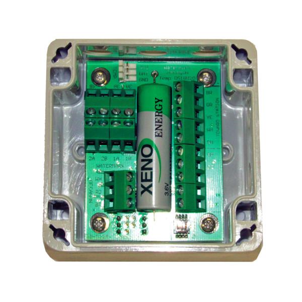 Interfaz para 3 marcas de agua y 1 temperatura