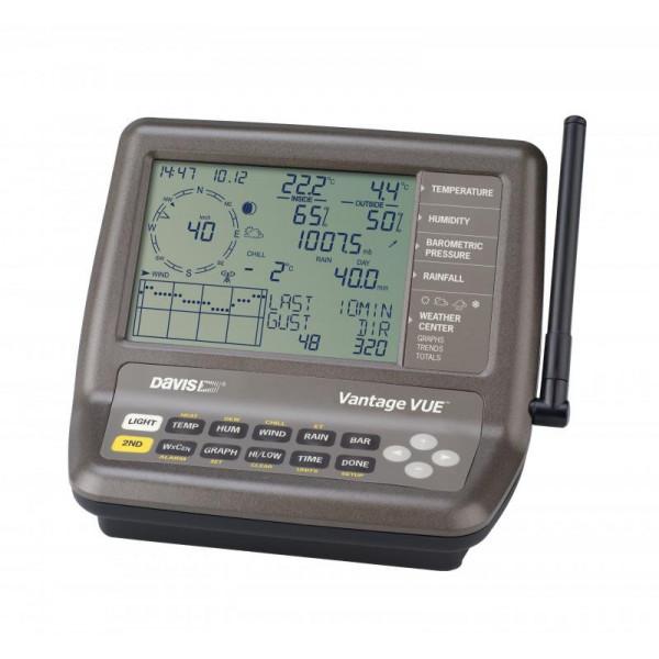 Consola de la estación meteorológica Vantage Vue