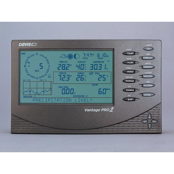Console câblée pour Vantage Pro2