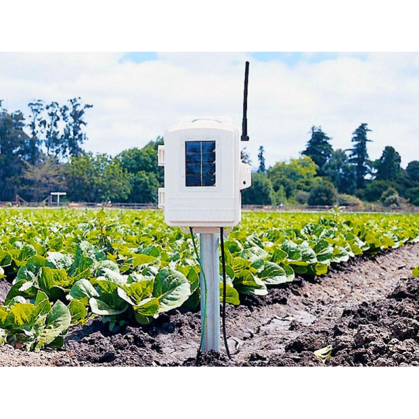 Agricultural measuring station without probe