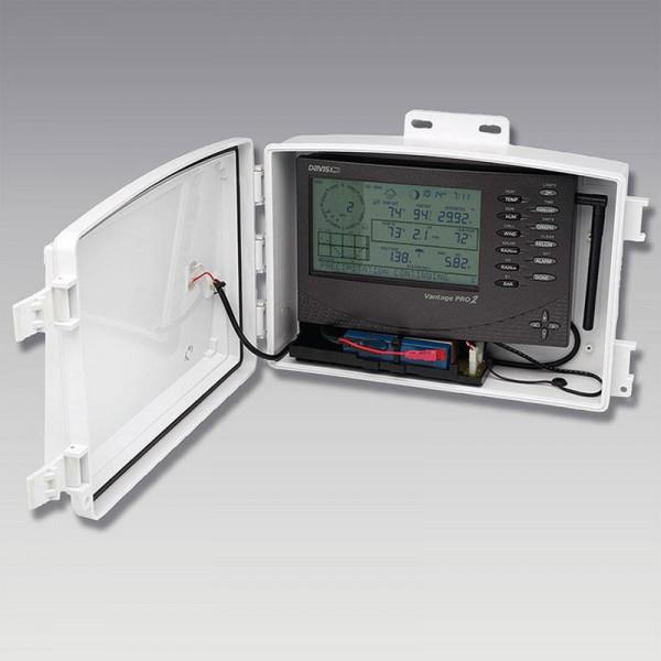 Kit de energía solar para estaciones meteorológicas