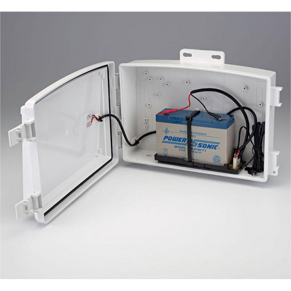 High Power Solar Power Kit for Weather Stations