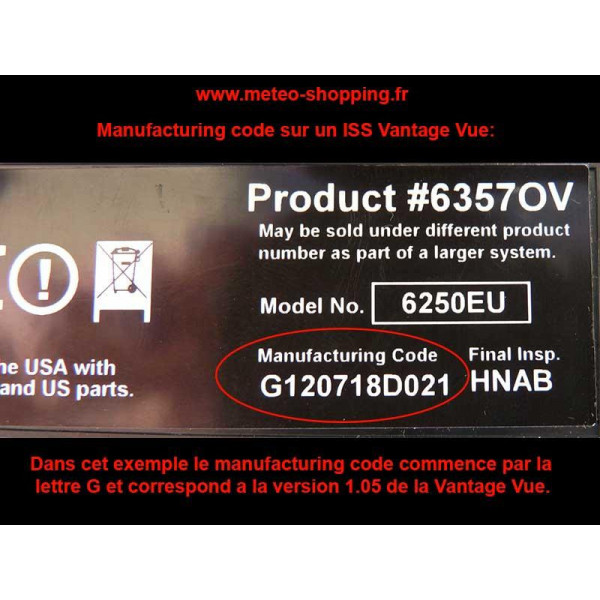 SIM card for ISS Vantage Vue revision 1.05