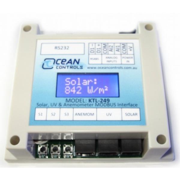Interfaz Modbus para la supervisión de Vent-Ray-UV (con pantalla LCD integrada)