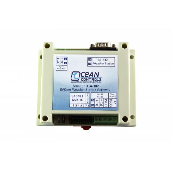 Interfaz BACnet MS/TP para estación meteorológica
