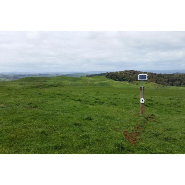 Estación de medición agrícola con 8 sondas