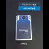 Sensores de temperatura, humedad y CO2 en interiores conectados por Sigfox