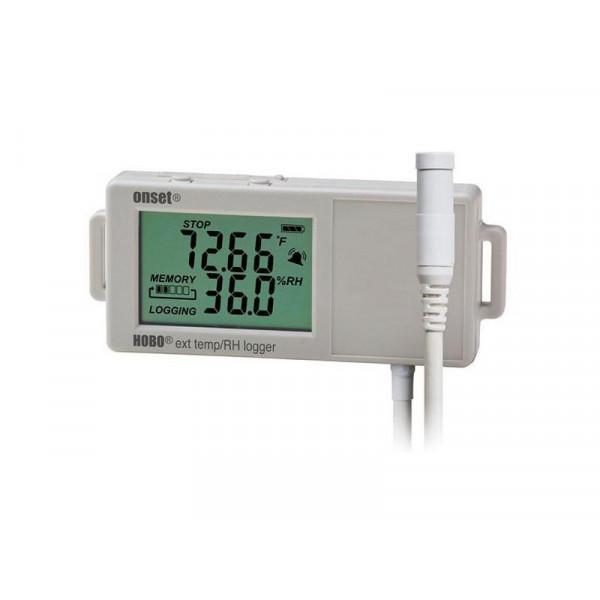 Enregistreur température et humidité relative avec afficheur (sondes externes)