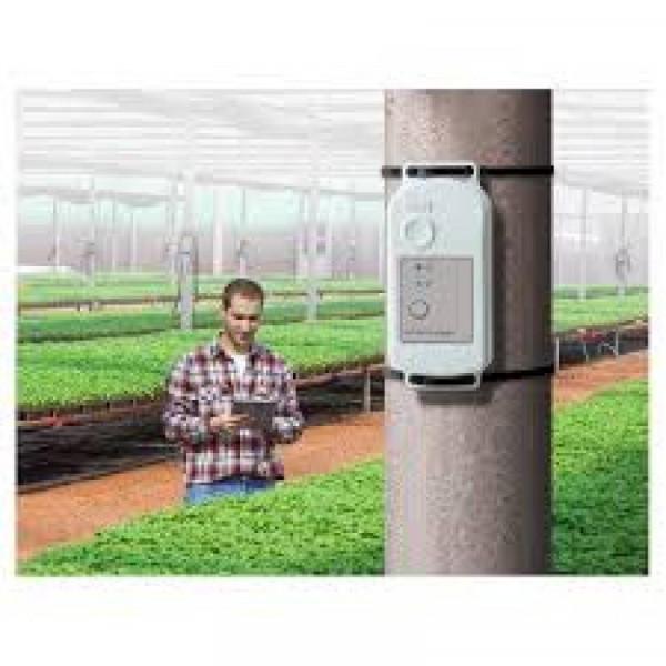 Registrador de temperatura y humedad impermeable y con bluetooth