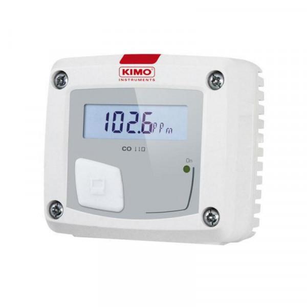 Carbon monoxide detector and transmitter