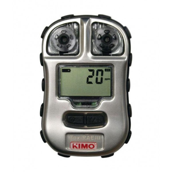 Detector personal de gases para H2S y CO