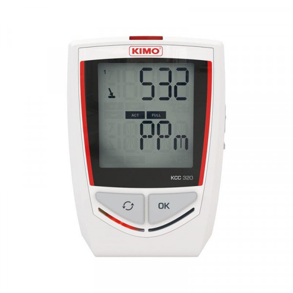 Temperature, hygrometry, pressure and CO2 recorder
