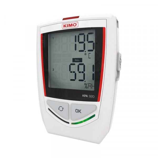 Temperature, hygrometry and pressure recorder