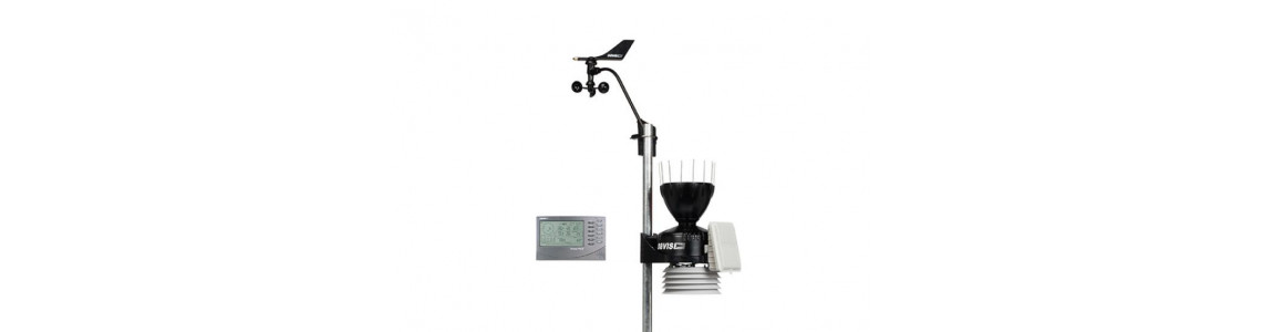 Wired weather station