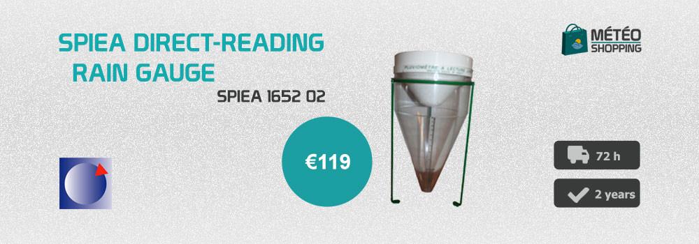 SPIEA direct-reading rain gauge