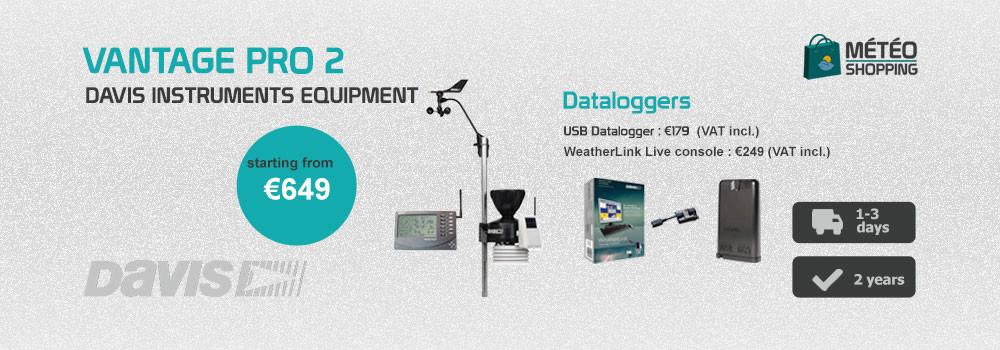 Vantage Pro 2 with  WeatherLink Live